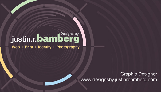 New Business Card by jrbamberg