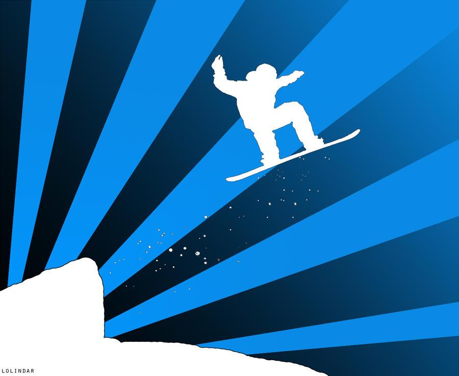 Snowboard by lolindar
