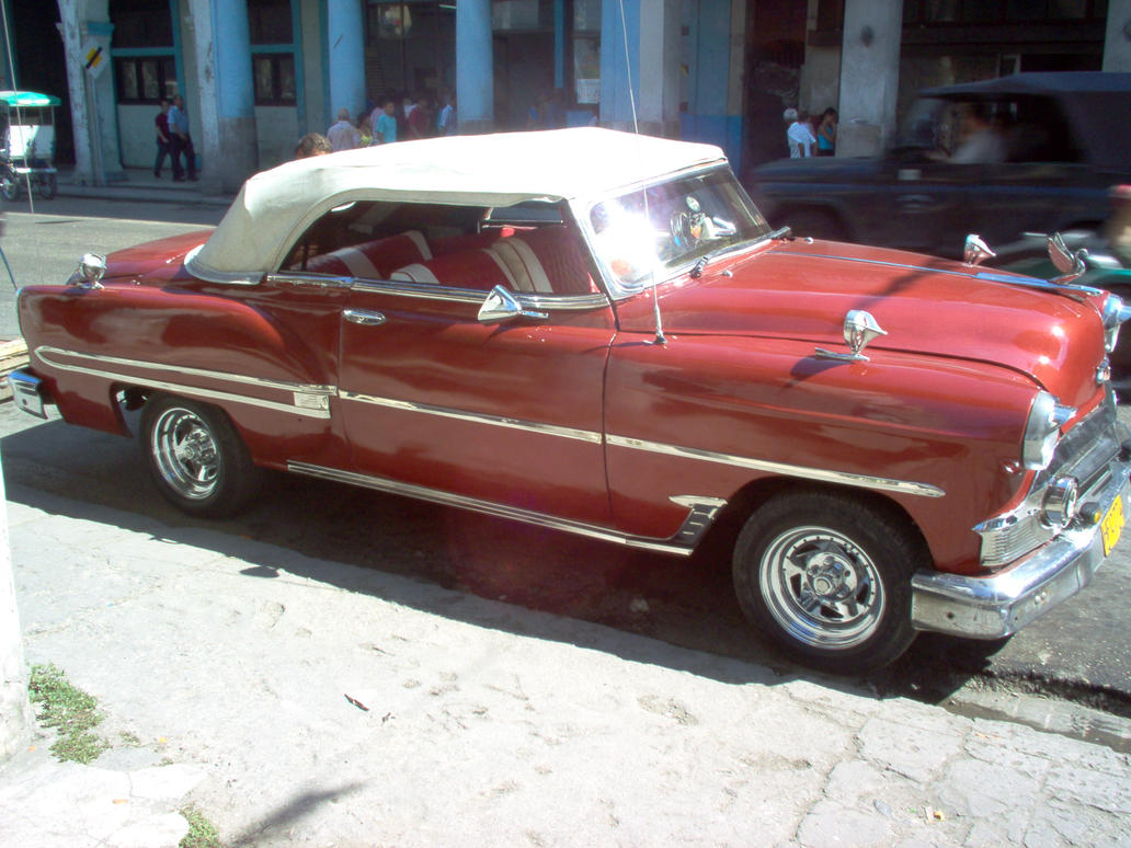 Cuba Old Convertible Car by LoKoTe on DeviantArt