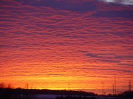 Firey Sunset by NooMoahk