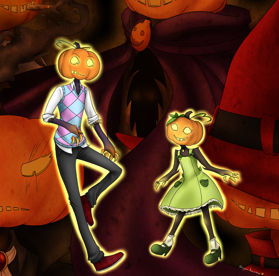 Pumpkins by MaeofClovers