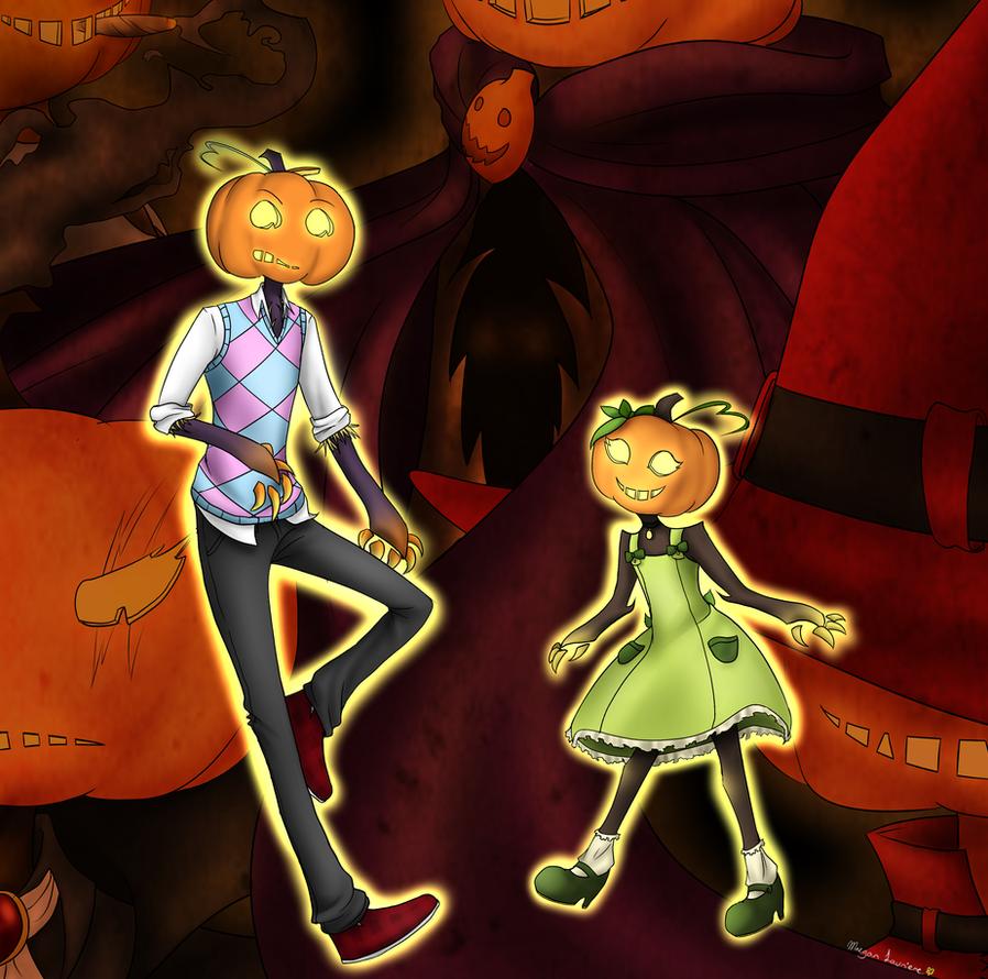 Pumpkins by MaeofClovers
