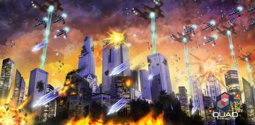 City Invasion by BluDrgn426