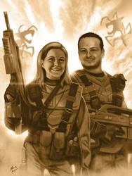 Troopers Portrait by BluDrgn426