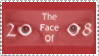 The Face Of 2008 Contest Stamp by jenepooh