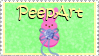 PeepArt Stamp by jenepooh