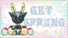 Get Sprung Stamp by jenepooh