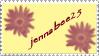 jennabee25's 1st place stamp by jenepooh
