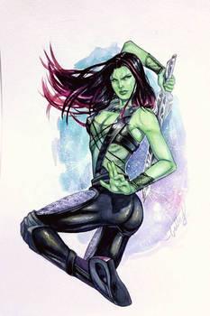 Gamora watercolors