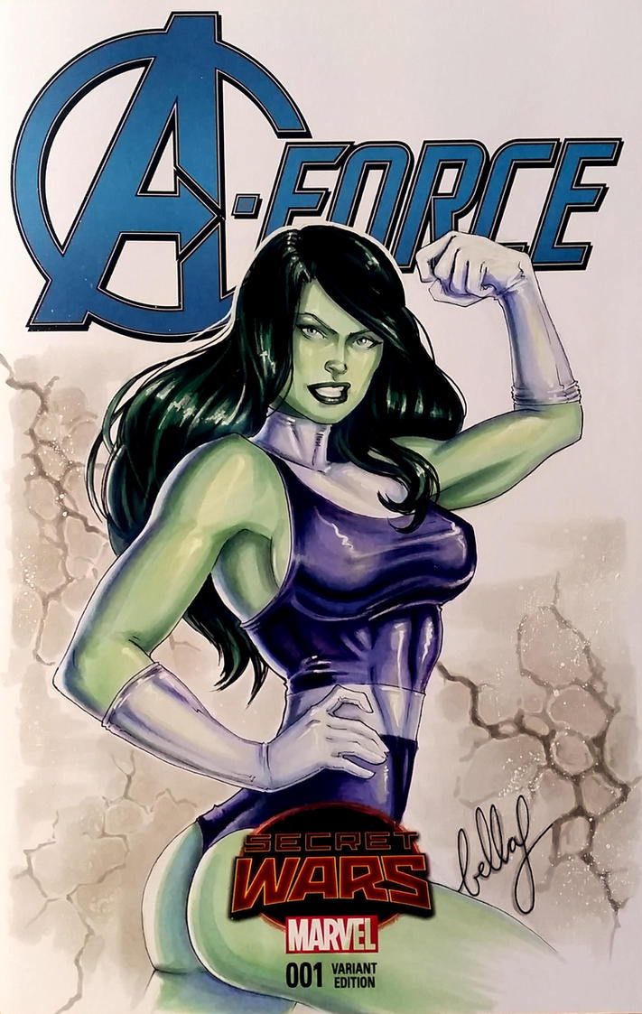 She - hulk Commission by Bella-Rachlin