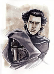 Kylo Ren :D by Bella-Rachlin