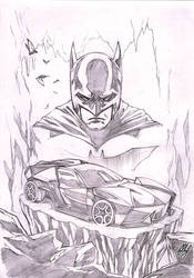 Lamborghini Ankonian as Batmobile :D by Bella-Rachlin