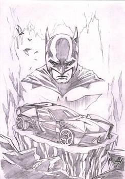 Lamborghini Ankonian as Batmobile :D