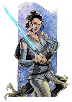A recent commission of Rey! :)
