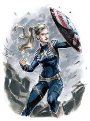 Gender Bender Captain America!