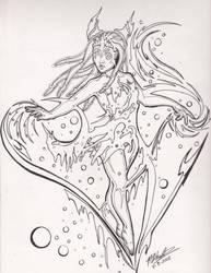 I Heart Linart Practice by LochaBWS