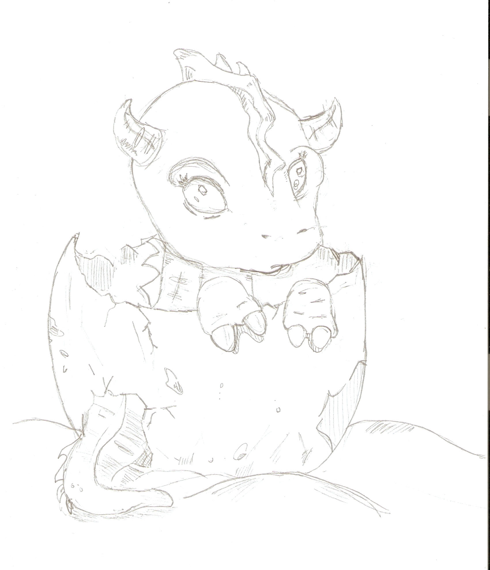 cute dragon sketches images reverse search