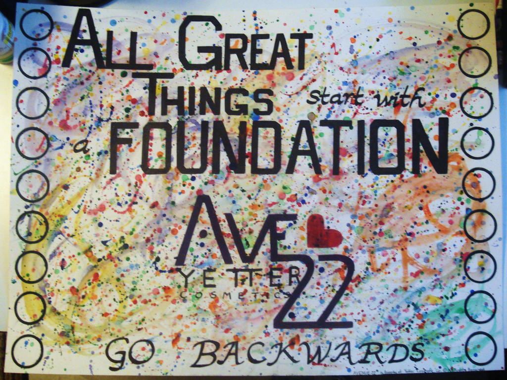 Cake Art Sylvania Avenue : Avenue 22 Cosmetics Poster by cake5313 on DeviantArt