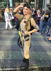 Female Ghostbuster by Amberainbow