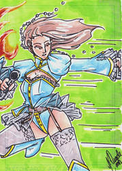 Sketch Card 12 by OracleMaab