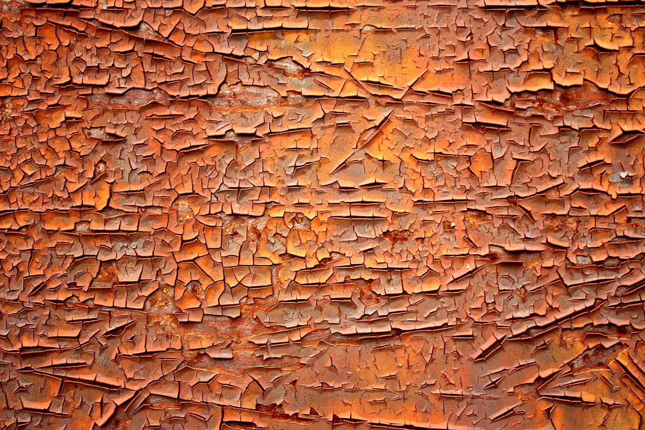 Rust Crackle Texture by IsrafelX