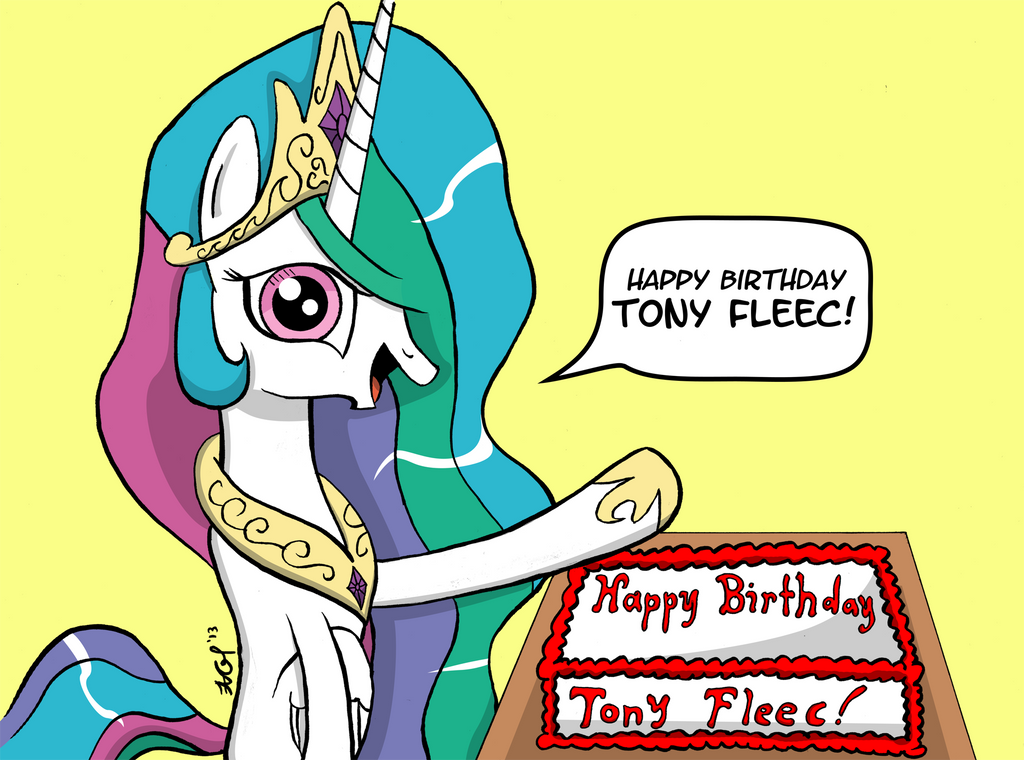 [GIFT] Happy Birthday Tony Fleecs by BoxedSurprise