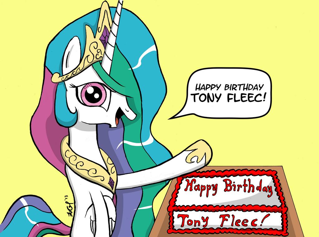 [GIFT] Happy Birthday Tony Fleecs by BoxedSurprise