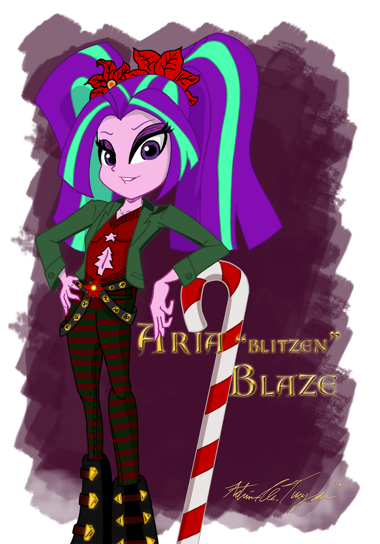 Aria Blitzen Blaze by BoxedSurprise