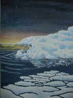 arctic sun by bing4288