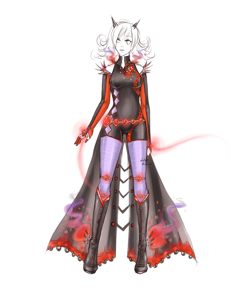 Outfit design - 3 - closed by LotusLumino on DeviantArt