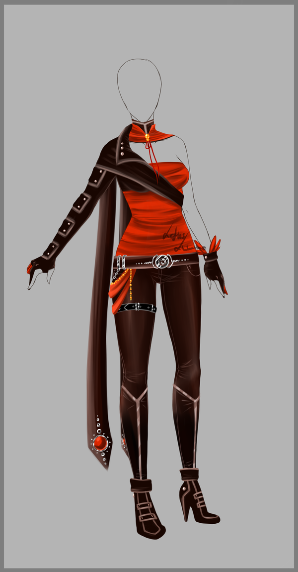 Outfit design - 73 - closed by LotusLumino on DeviantArt