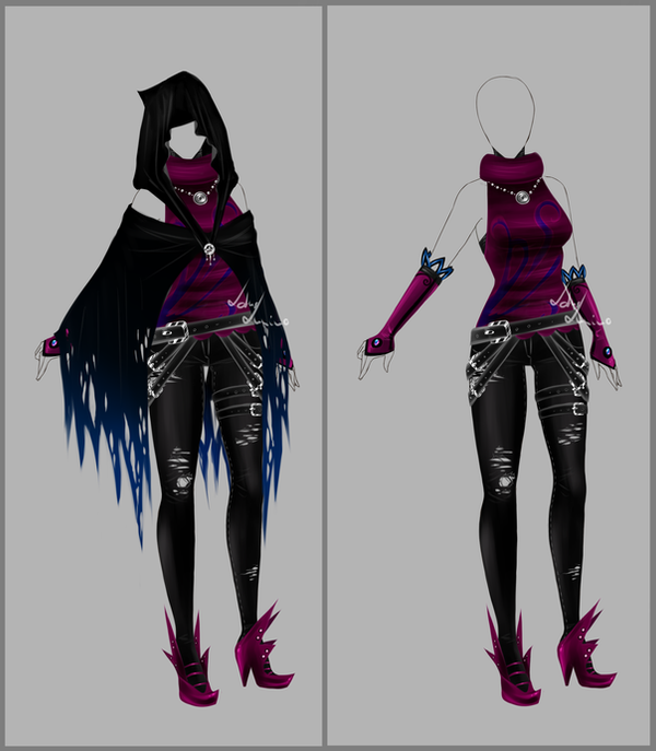 Outfit design - 89 - closed by LotusLumino on DeviantArt