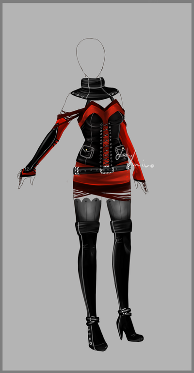 outfit design 93 closed by lotuslumino on deviantart