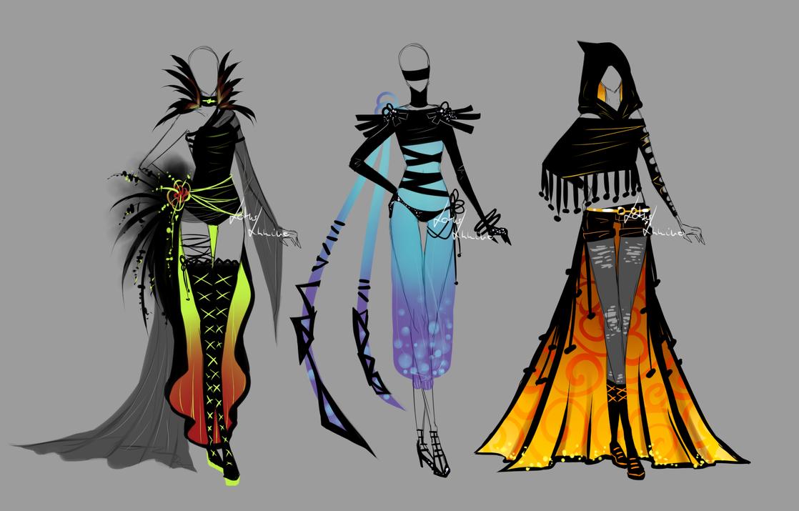 Random designs by LotusLumino