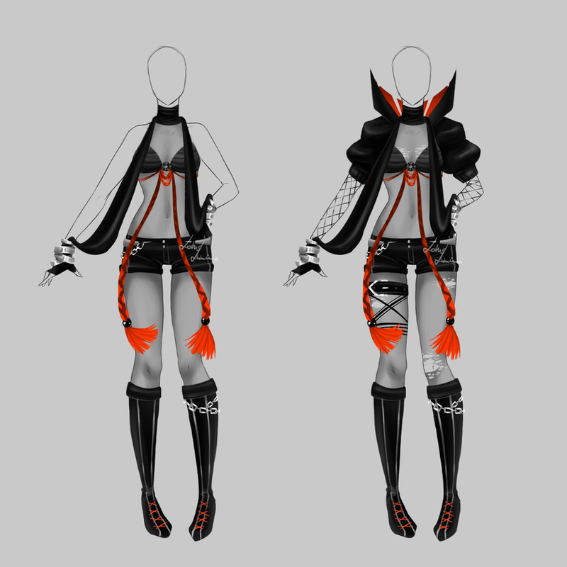 Outfit design - 169 - closed by LotusLumino on DeviantArt