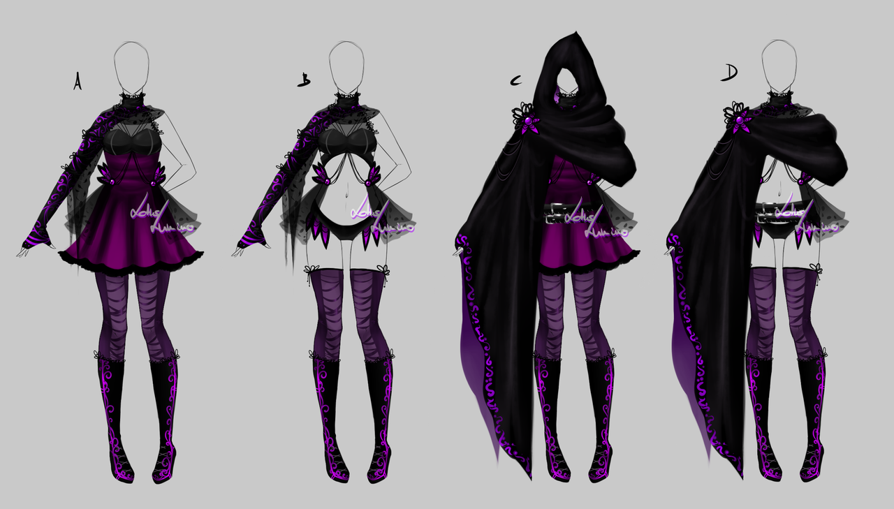 Outfit design - 196 - closed by LotusLumino on DeviantArt