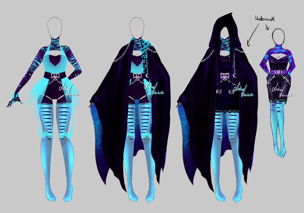 Outfit design - 197 - closed by LotusLumino on DeviantArt