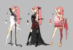 M75 random outfits by LotusLumino