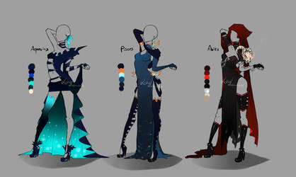 Outfit design - Zodiacs - 1 - closed