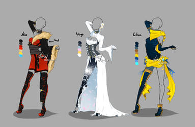 Outfit design - Zodiacs - 3 - closed