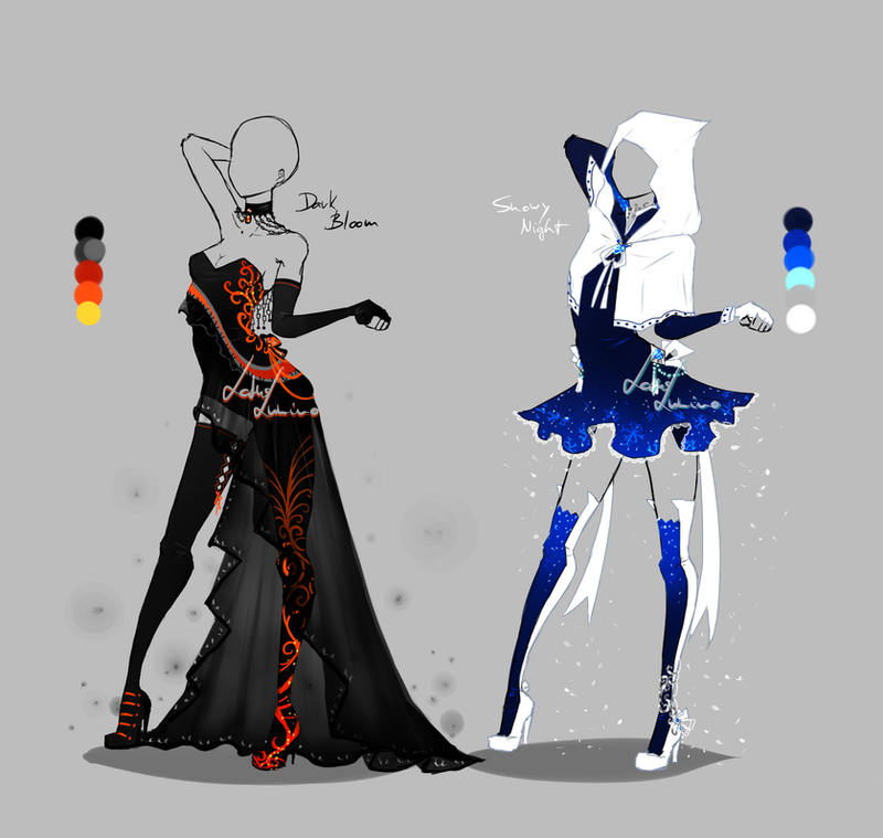 Outfit Design - 219 - 220 - Closed By LotusLumino On ...