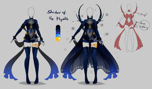 Outfit design - Shadow of the Mystic - closed