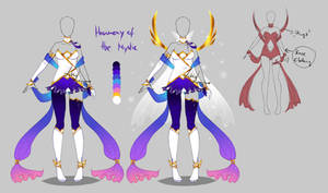 Outfit design - Harmony of the Mystic - closed