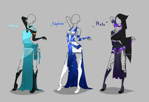Outfit design - Planets 3 - closed