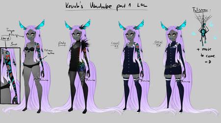 Kerub - Wardrobe 1 by LotusLumino