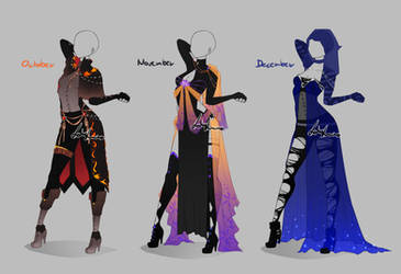 Outfit design - Months - 4 - closed