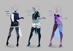 Outfit design - 293 - 295  - closed by LotusLumino