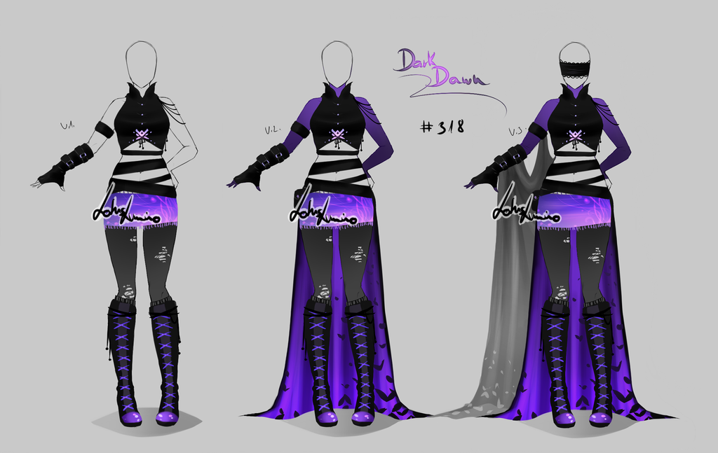 outfit design 318 closed by lotuslumino on deviantart