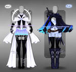 Outfit design - 445 - 446 - closed