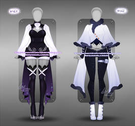 Outfit design - 461 - 462 - closed
